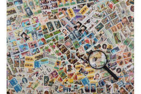 RAVENSBURGER Puzzle Poštovní známky 500 dílků Puzzle