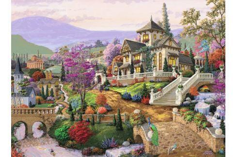 RAVENSBURGER Puzzle Malebná stráň 500 dílků Puzzle