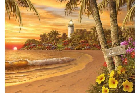 RAVENSBURGER Puzzle Tropická láska XXL 500 dílků Puzzle