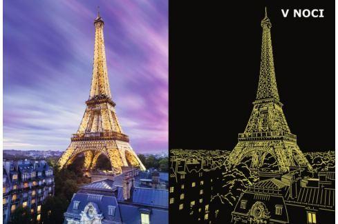 RAVENSBURGER Svítící puzzle  500 dílků - Překrásná Eiffelova věž Puzzle