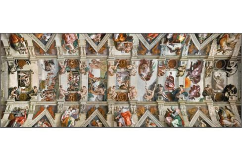 RAVENSBURGER Puzzle  1000 dílků - Sixtinská kaple Puzzle