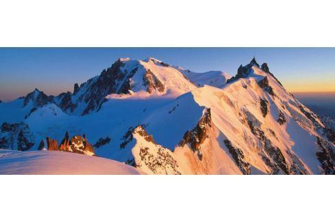 RAVENSBURGER Puzzle  15080 Mont Blanc, Alpy 1000 dílků Puzzle