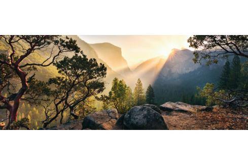 RAVENSBURGER Panoramatické puzzle Yosemitský národní park, Kalifornie 1000 dílků Puzzle