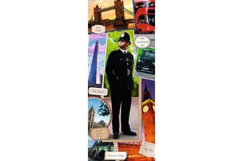 RAVENSBURGER Vertikální puzzle Londýnský strážník 170 dílků Puzzle