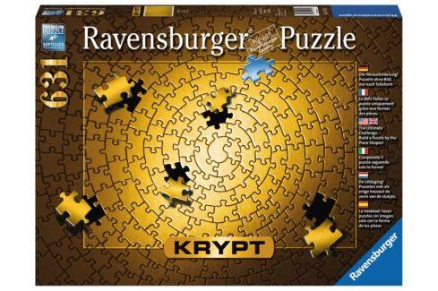 RAVENSBURGER Puzzle KRYPT (barva zlatá) 631 dílků Puzzle