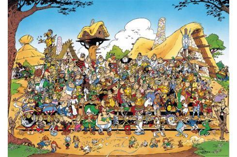 RAVENSBURGER Puzzle  1000 dílků - Asterix a Obelix: Rodinná fotka Puzzle