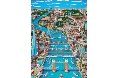 RAVENSBURGER Puzzle Pohled na západní Londýn 1000 dílků Puzzle