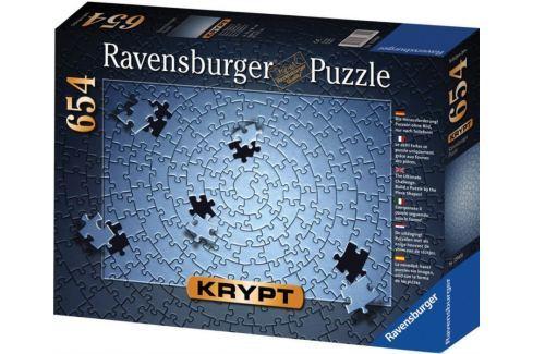 RAVENSBURGER Puzzle  654 dílků - KRYPT (barva stříbrná) Puzzle