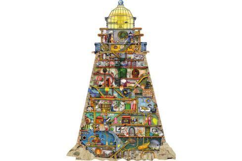 RAVENSBURGER Tvarové puzzle Zábavný maják 995 dílků Puzzle