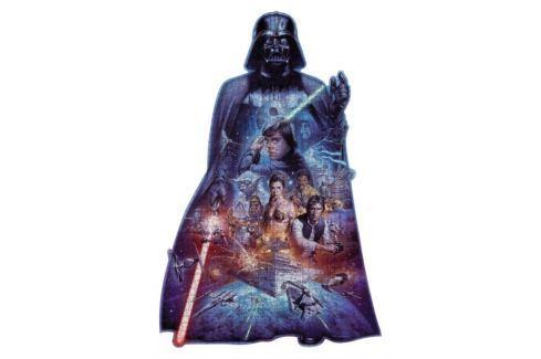 RAVENSBURGER Tvarové puzzle  Star Wars 1098 dílků Puzzle