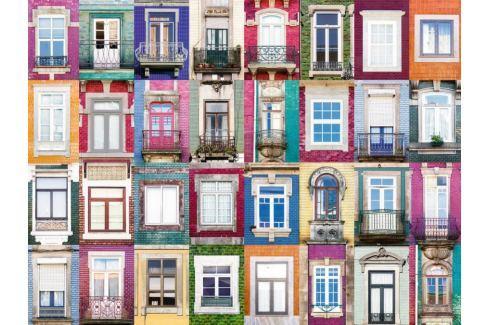 RAVENSBURGER Puzzle Portugalská okna 1500 dílků Puzzle