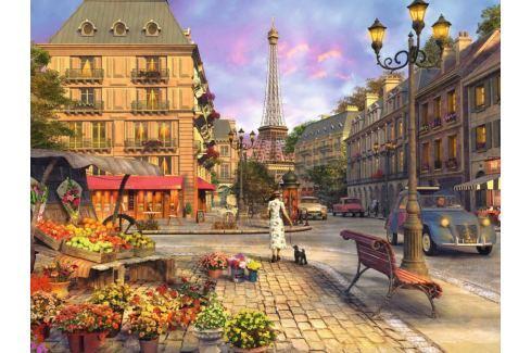 RAVENSBURGER Puzzle Paříž 1500 dílků Puzzle