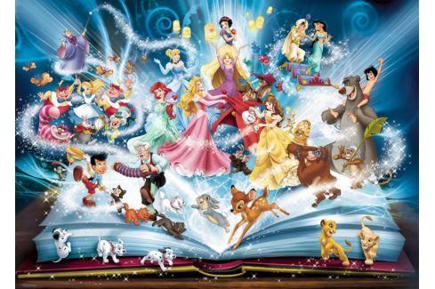 RAVENSBURGER Puzzle Disneyho magická kniha pohádek 1500 dílků Puzzle