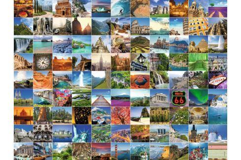 RAVENSBURGER Puzzle 99 krásných míst planety 1500 dílků Puzzle