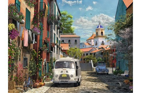 RAVENSBURGER Puzzle Idylický jih Francie 1500 dílků Puzzle