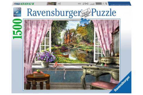 RAVENSBURGER Puzzle Výhled z ložnice 1500 dílků Puzzle