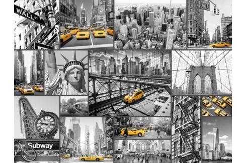 RAVENSBURGER Puzzle Taxi v New Yorku 1500 dílků Puzzle