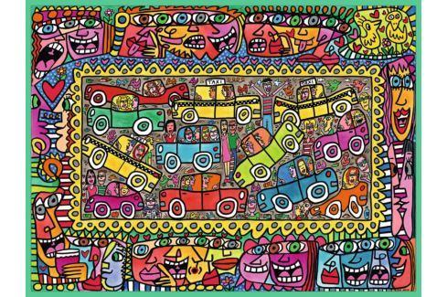 RAVENSBURGER Puzzle Jsme na cestě k Vám 1500 dílků Puzzle