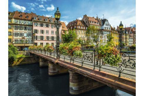 RAVENSBURGER Puzzle Slunečný Štrasburk, Francie 1500 dílků Puzzle
