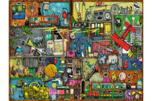 RAVENSBURGER Puzzle Prásk, břink, cink! 1500 dílků Puzzle