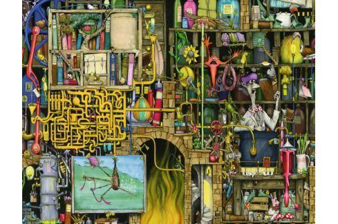 RAVENSBURGER Puzzle Šílená laboratoř 2000 dílků Puzzle