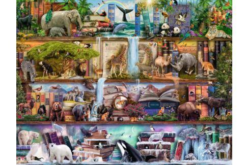 RAVENSBURGER Puzzle Království divokých zvířat 2000 dílků Puzzle
