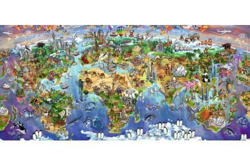 RAVENSBURGER 16698 - Divy světa, puzzle 2000 dílků Puzzle