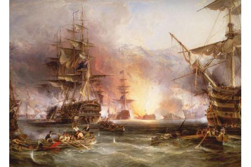 RAVENSBURGER Puzzle  3000 dílků - Námořní bitva u Alžíru Puzzle