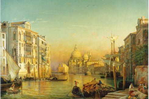 RAVENSBURGER Puzzle  3000 dílků - Canal Grande, Benátky Puzzle