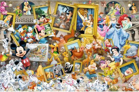 RAVENSBURGER Puzzle  17432 Malíř Mickey 5000 dílků Puzzle