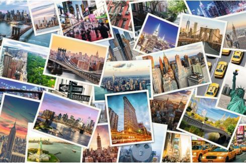 RAVENSBURGER Puzzle New York nikdy nespí 5000 dílků Puzzle