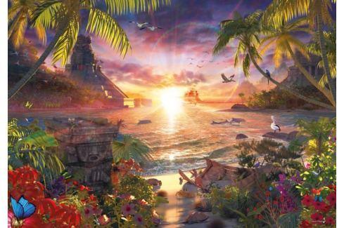 RAVENSBURGER Puzzle  18000 dílků - D.Penfound, Západ slunce v ráji Puzzle