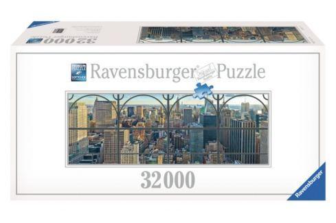 RAVENSBURGER Puzzle  32000 dílků - Pohled na New York (3.největší puzzle) Puzzle