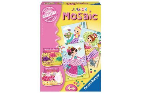 RAVENSBURGER Mozaika Junior Princezny Výtvarné a kreativní sady
