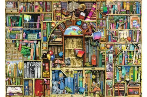 RAVENSBURGER Puzzle  1000 dílků - Bizarní knihovna 2 Puzzle