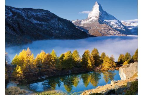 RAVENSBURGER Puzzle Matterhorn a jezero Grindjisee 1000 dílků Puzzle