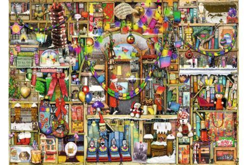RAVENSBURGER Puzzle Vánoční knihovna 1000 dílků Puzzle