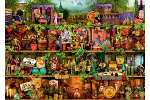 RAVENSBURGER Puzzle Kouzelné vinobraní 1000 dílků Puzzle