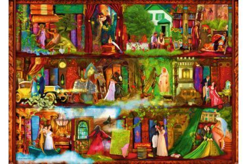 RAVENSBURGER Puzzle  1000 dílků - A. Stewart: Hrdinové a hrdinky Puzzle