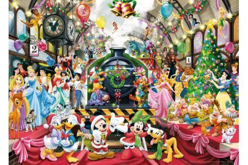 RAVENSBURGER Puzzle Disney vánoční vlak 1000 dílků Puzzle