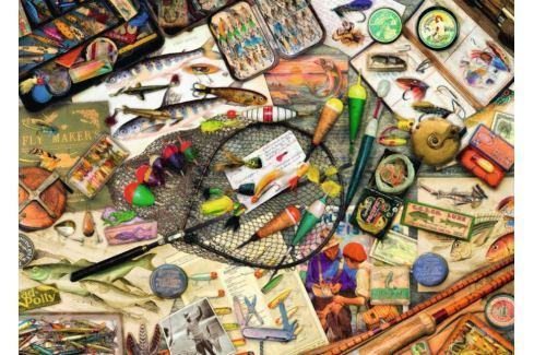 RAVENSBURGER Puzzle Rybářská výbava 1000 dílků Puzzle