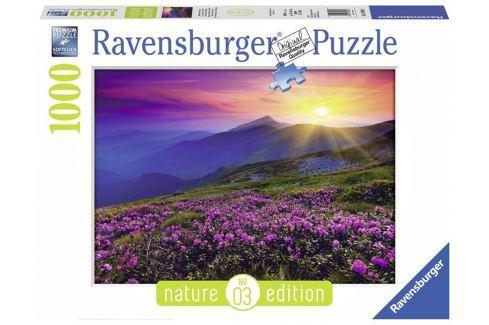 RAVENSBURGER Puzzle Brzké ráno v horách 1000 dílků Puzzle