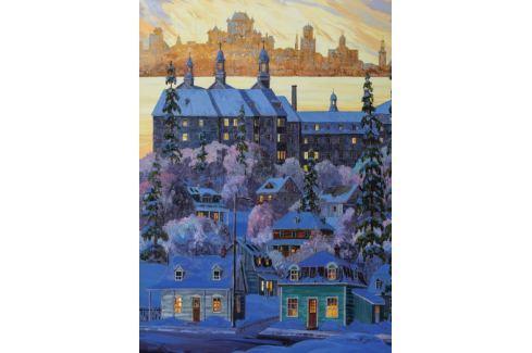 RAVENSBURGER Puzzle Pohled na Quebec z města Lévis 1000 dílků Puzzle