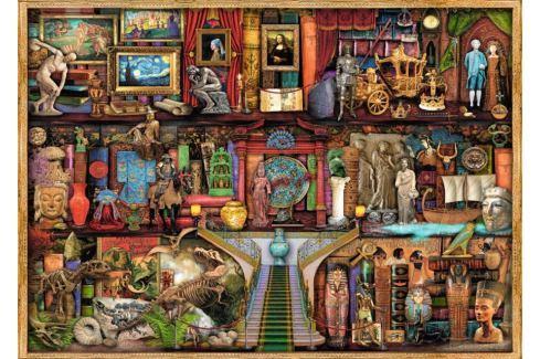 RAVENSBURGER Puzzle  1000 dílků - A. Stewart: Muzeum divů Puzzle