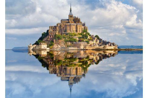 RAVENSBURGER Puzzle Hora sv. Michaela, Francie 1000 dílků Puzzle