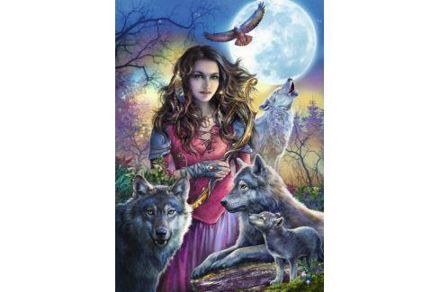 RAVENSBURGER Puzzle  1000 dílků - Ochránkyně vlků Puzzle