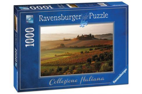 RAVENSBURGER Puzzle  1972 San Quirico d'Orcia, Itálie 1000 dílků Puzzle