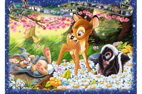 RAVENSBURGER Puzzle Bambi 1000 dílků Puzzle