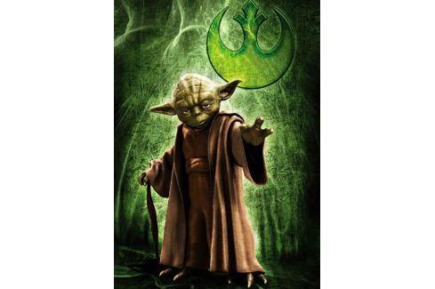 RAVENSBURGER Puzzle  1000 dílků - Star Wars: Yoda Puzzle