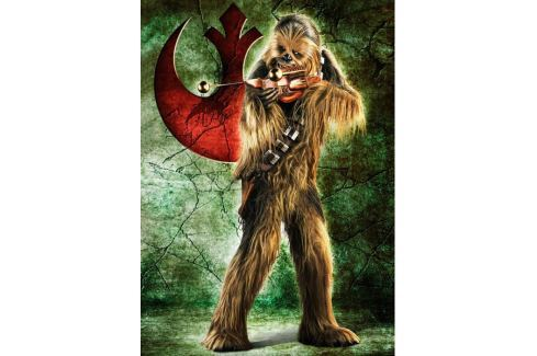 RAVENSBURGER Puzzle  1000 dílků - Star Wars: Chewbacca Puzzle